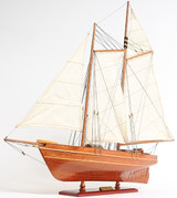 America Yacht Sailboat Model side view