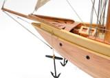 Atlantic Sailing Yacht Model close up view 3
