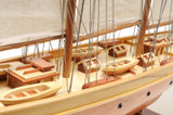 Atlantic Sailing Yacht Model close up view 4