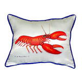 Scarlet Lobster Pillow