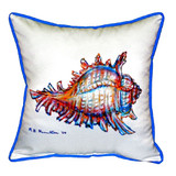 Conch Shell Pillow