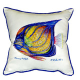 Blue Ring Angelfish Pillow