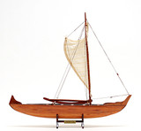 Hawaiian Canoe Detailed Model