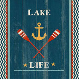 Custom Lake-Life Oar Wall Art