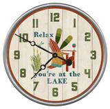 Relax Lake Clock - Custom