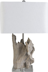 Darby Driftwood Table Lamp