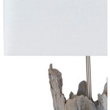 Darby Driftwood Table Lamp - lamp close up