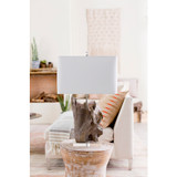 Darby Driftwood Table Lamp room view