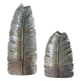 Invano Leaf Vases- Set of 2