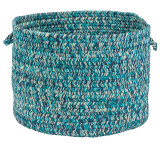 Catalina Blue Lagoon Braided Basket