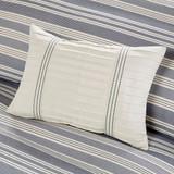 Coastal Farmhouse Comforter Queen Size dec pillow