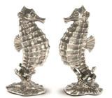 Pewter Seahorses Salt and Pepper Set