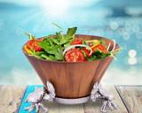 Crab Wood Salad Bowl