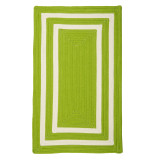 Bright Lime La Playa Area Rug