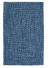 Catalina Blue Wave Braided Rug