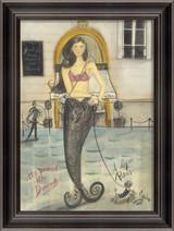 A Day in Paris Mermaid Wall Art