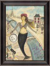 By the Seine Mermaid Art
