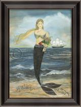 All Her Days Framed Mermaid Wall Art