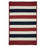 Portico Patriotic Stripes Rug