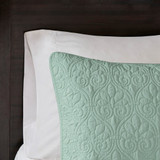 Hudson Bay Seafoam Green King Size Coverlet Set
