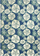 Surfside Sand Dollars Indoor Area Rug