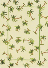 Hanalei Palm Indoor Outdoor Area Rug