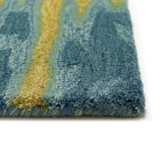 Ocean Reflection Hand-Tufted Wool Rug pile