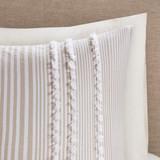 Saltwater and Dunes Comforter Set shams close up