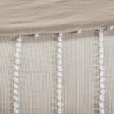 Saltwater and Dunes Comforter Set -close up