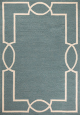 Hamptons Spa Blue Madison Rug by Libby Langdon  main image