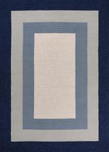 Hamptons Highview Border Rug by Libby Langdon - Navy Blue