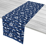 Deep Blue Sea Mix Table Runner
