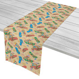 Beach Flip Flops Table Runner
