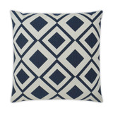 Savvy Navy 22 x 22  Indoor-Outdoor Lux Pillow