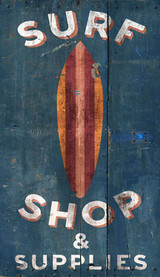 Surf Shop Custom Art