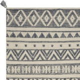 Hang Ten Encinitas Grey Rug close up 2