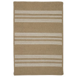 Summer Wheat Sunbrella Southport Stripe Rug