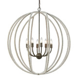 Nautical Hawser Roped Chandelier