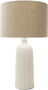 Swell Carmel Ivory Table Lamp