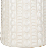 Swell Carmel Ivory Table Lamp base close up