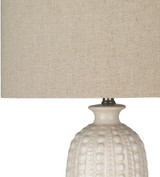 Swell Carmel Ivory Table Lamp shade + base