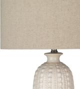 Swell Carmel Ivory Table Lamp shade + base