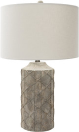Oceanic Rustic Grey Table Lamp