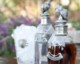 Lifestyle Photo of our Conch Shell Liquor Decanters