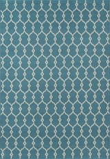 Blue Knots Baja Area Rug