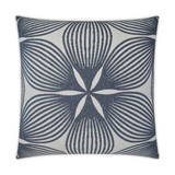 Sunglow Indigo Lux 24 x 24 Pillow