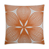 Sunglow Tangerine Lux 22 x 22 Pillow