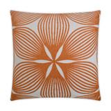 Sunglow Tangerine Lux 22 x 22 Pillow
