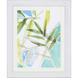 Tropic Blue I Framed Art