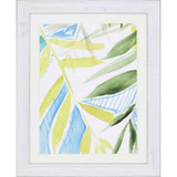 Tropic Blue II Framed Art